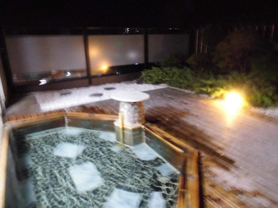 Hotel Yoshino: 4階 露天風呂