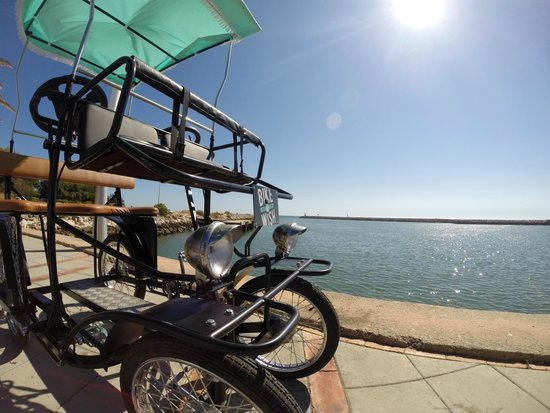 taxi bike vilamoura photo de bike a wish lisbonne tripadvisor. Black Bedroom Furniture Sets. Home Design Ideas