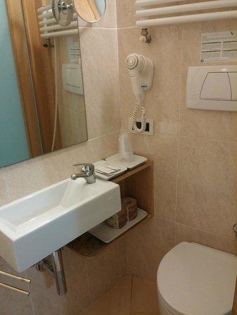 Hotel Anna's : Baño estrecho pero completo; con ducha