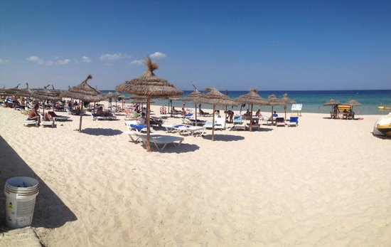 Amir Palace Hotel: Amazing beach