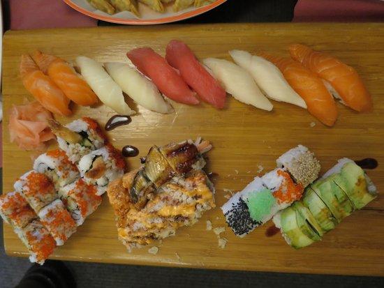 Ta-Ke Sushi: セット