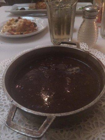 Spain Restaurant of Cranston: Black bean soup  - yummy