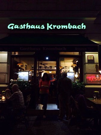 Gasthaus Krombach: Outside view!