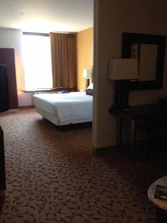 SpringHill Suites Logan: room 101 king.  large room