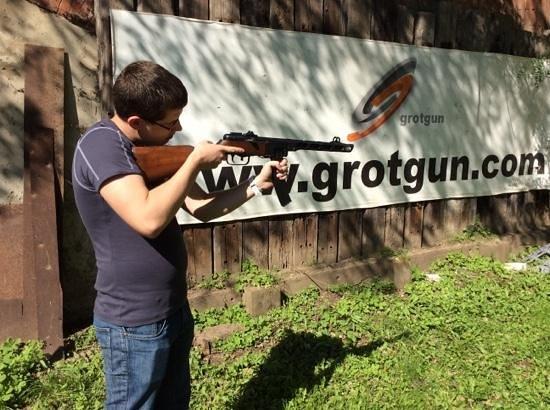 Grotgun Shooting Range : very safe