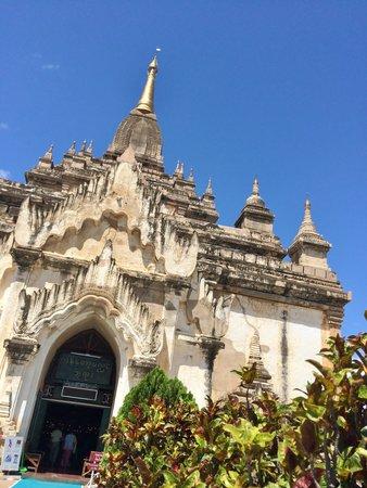 Gawdawpalin Temple: 寺院の入り口