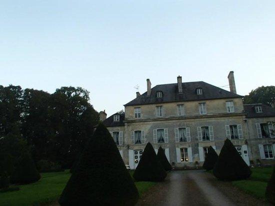 Chateau de Goville : Hotel Front