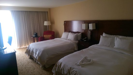 Delta Hotels by Marriott Chesapeake: Double beds