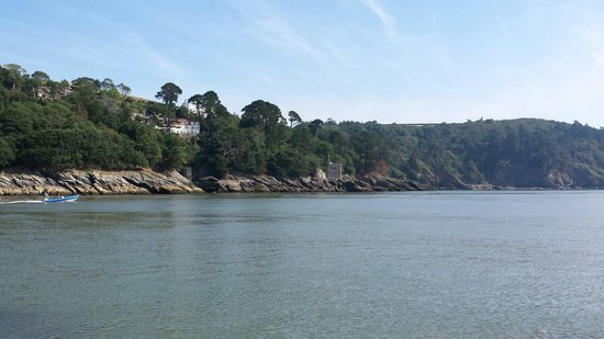 Dartmouth Castle: View across the river dart.
