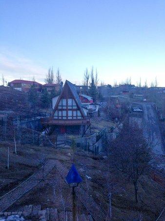 Chalet Valluga : Região do hotel
