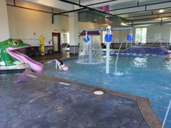 Holiday Inn Express & Suites Columbus-Polaris Parkway : pool area