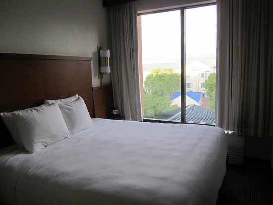Hyatt Place Nashville Airport: bedroom/view