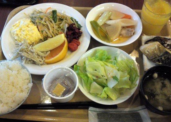 Hotel Route-Inn Yamagata Ekimae : 朝食バイキング