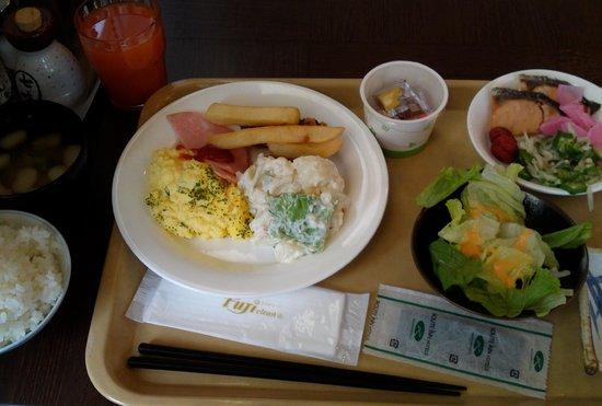 Hotel Route Inn Tsuruoka Ekimae : 朝食バイキング