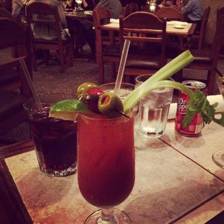 Cabernet Grill Texas Wine Country Restaurant: The best Bloody Mary is at the Cabernet Grill!