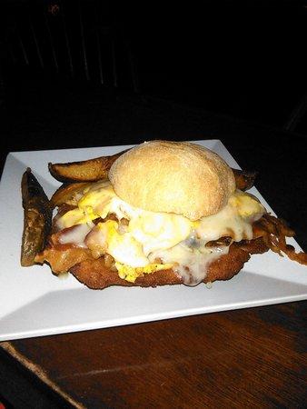 Caribbean Saloon: great sandwich big bad wolf!!!