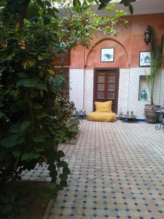 Dar Moulay Ali: Cour interieure