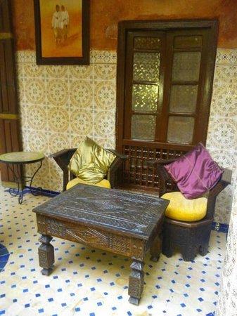 Dar Moulay Ali: Petit espace zen