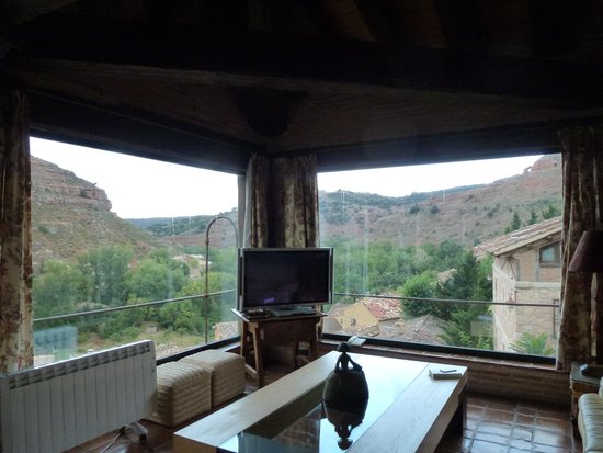Castillo de Somaen: View from the sitting room