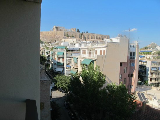 Daytime balcony view picture of divani palace acropolis for Divani palace acropolis