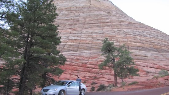 Checkerboard Mesa from pullout