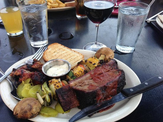 Jack Stack Barbecue: BBQ Combo Lunch (Crown Prime Beef Rib & Burnt Ends)