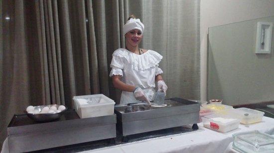 Hotel Sol Barra: baihana en desayuno buffet