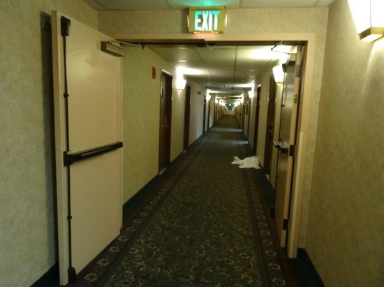 Shilo Inn Suites - Salem: Corridor inside Shila Inn