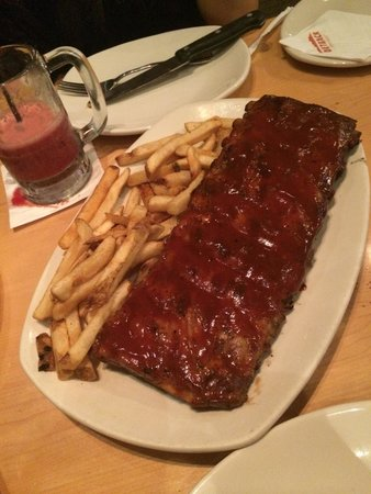 Outback Steakhouse - Shopping RioMar Recife : Ribs on the barbie