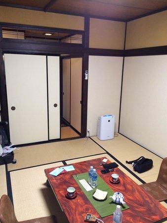 Ryokan Asunaro: 普通の和室です
