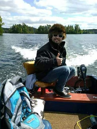 Aventures Plein Air: Gabe was a blast - he knows how to catch Musky