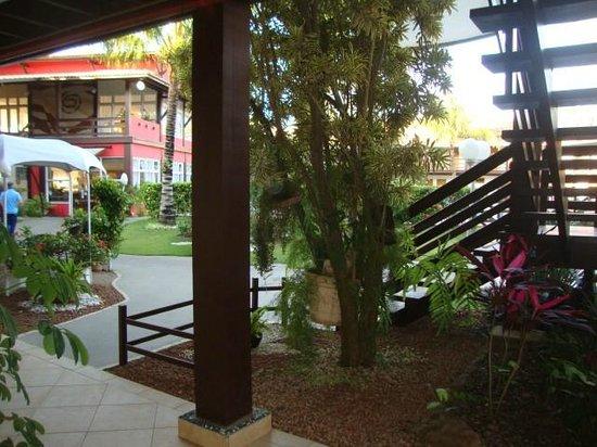 Vilarejo Praia Hotel : Foto do pátio