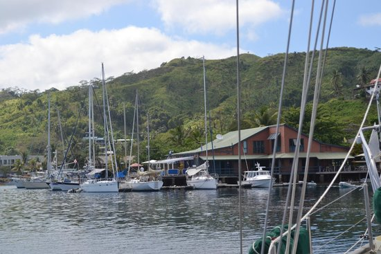 Vanua Levu, Fiji: Marina view from S/V  Inspiration at Sea