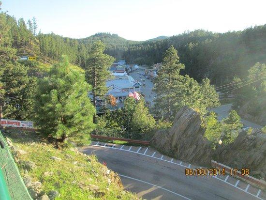 Baymont Inn & Suites Keystone Near Mt. Rushmore: vue sur keystone