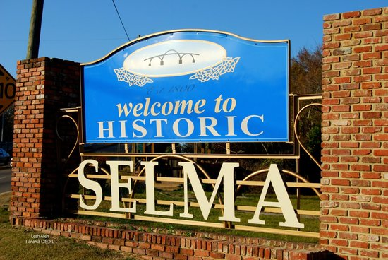 Selma Welcome sign