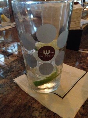 The Windrift Restaurant: Club Soda