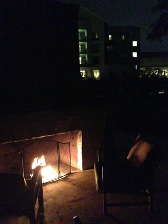 Courtyard by Marriott New Braunfels River Village: Fire Pit