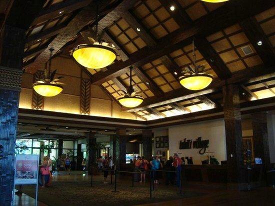 Tahiti Village : The Lobby is very nice.