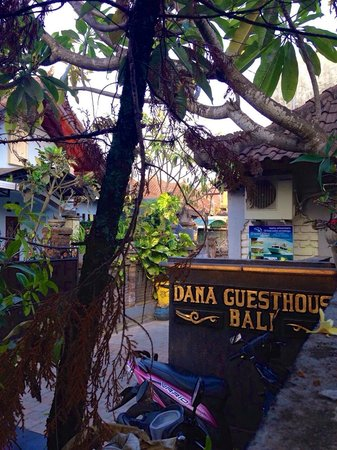 Dana Guesthouse: outside the gate
