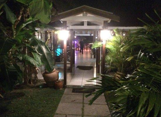 La Bussola Restaurant: Entry to La Bussola