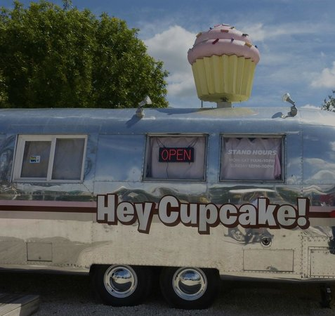 SoCo District: Hey Cupcake Trailer…try the red velvet with cream cheese!