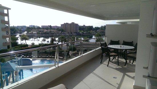 Ona Garden Lago: View from my Balcony