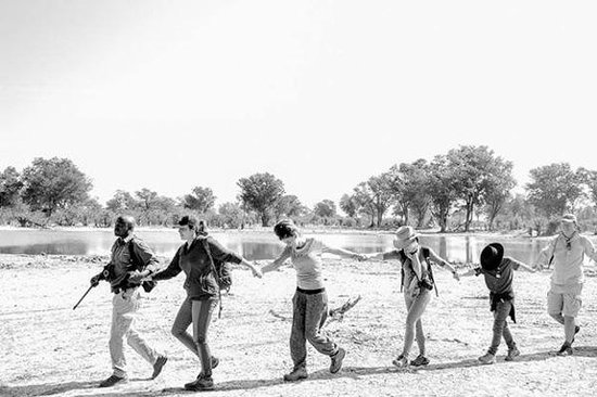 Great Plains Conservation Selinda Explorers Camp: fun walks in the bush