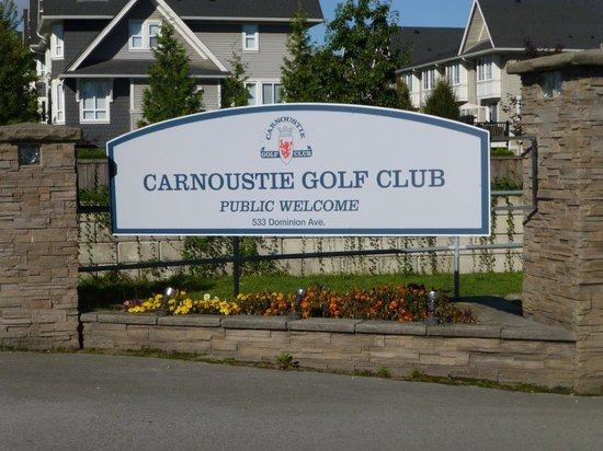 ‪Carnoustie Golf Club‬