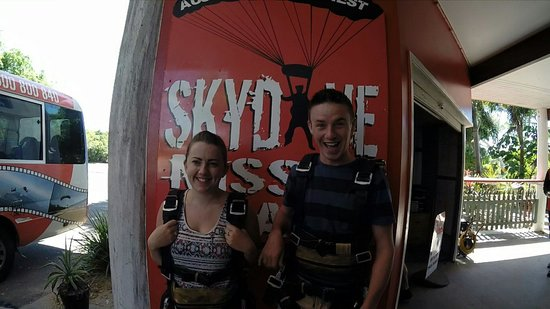 Skydive Mission Beach : Before