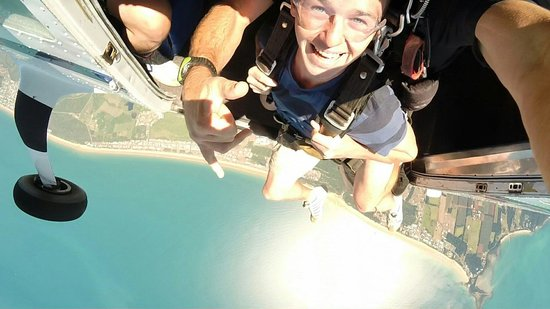 Skydive Mission Beach : Here it goes...