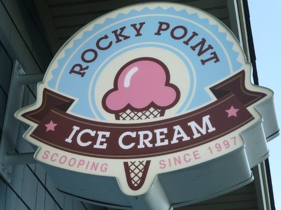 Rocky Point Ice Cream Store : since 1997