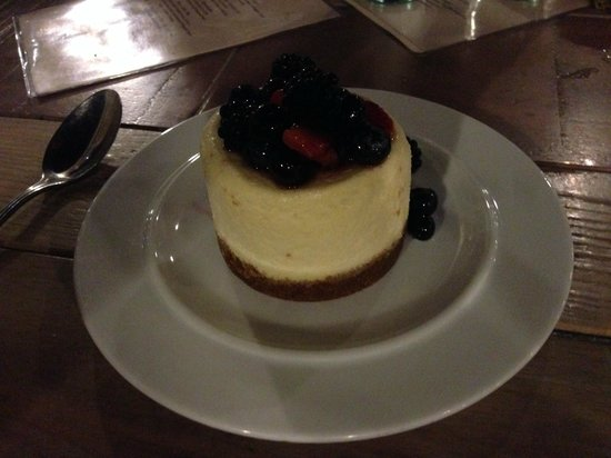 Surf Spot : goat cheese cheesecake