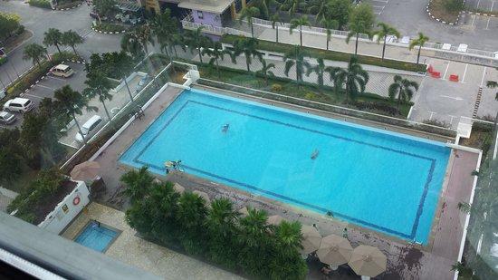 Holiday Inn Melaka : View from room