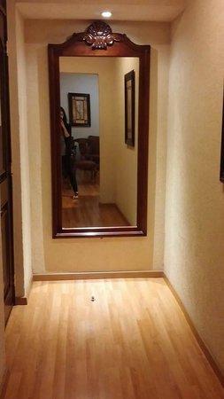 Elegant Hotel Morales Historical U0026 Colonial Downtown Core: Mirror On Wall Behind  Entry Door